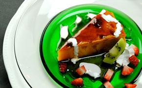 かぼちゃプリンケーキ … 500円