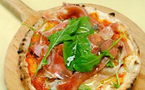 生ハムのピザ … 1,500円