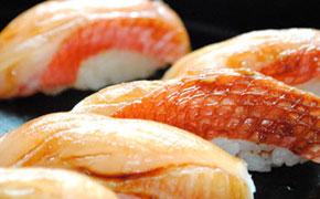 金目鯛のにぎり寿司