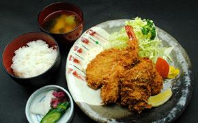 ミックスフライ定食 … 1,680円