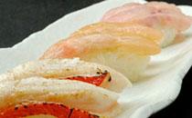 金目鯛のお寿司