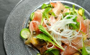 生ハムのサラダ … 890円