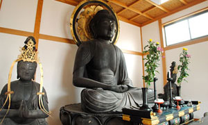 下田市指定文化財:阿弥陀如来坐像