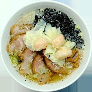 ワンタン入り天然塩チャーシューメン … 1,300円