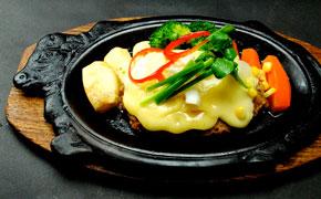 チーズハンバーグステーキ … 1.490円