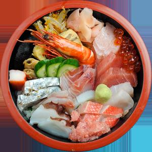 ちらし丼 … 1,700円