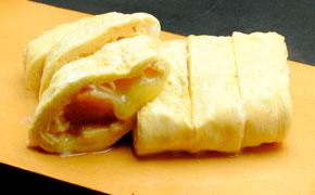 明太子とチーズの出し巻き玉子 … 630円