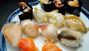 波布鮨の貝いっぱい鮨