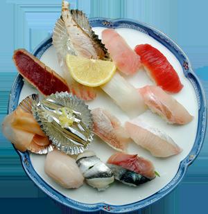 地魚いっぱい鮨 ... 2,500円