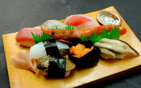 地魚寿司 … 2,000円