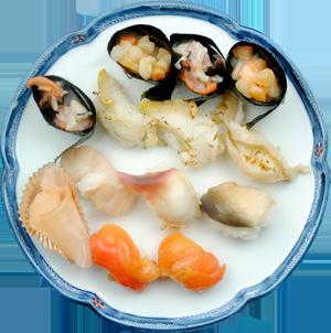 貝いっぱい鮨 ... 3,000円