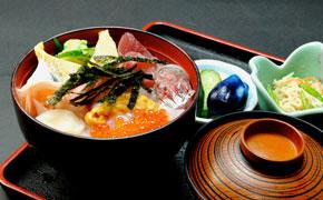 海鮮丼 … 1,700円