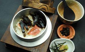 下田地金目鯛の塩釜めし … 1,800円