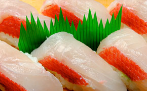 金目寿司 … 6カン 1,200円