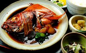 地金目鯛の煮付け定食 1,900円