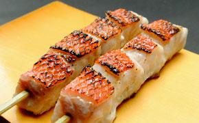 地金目鯛串焼き … 1本 350円