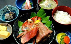 金目鯛煮魚定食 … 2,500円