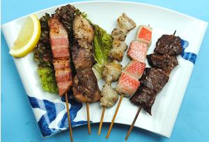串焼き 各種 … 150円 ~ 350円