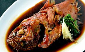 地金目鯛の姿煮(漁師煮)