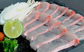 地金目鯛のしゃぶしゃぶ … 時価