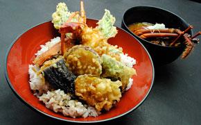 伊勢海老の漁師天丼 … 2,980円