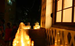 夏の思い出 キャンドルカフェ 2011