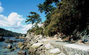 下田の海辺散策コース 和歌の浦遊歩道