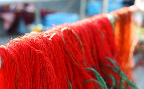 漁に使う 刺し網