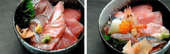 魚河岸丼...1,800円