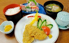 アジフライ定食 ... 1,750円