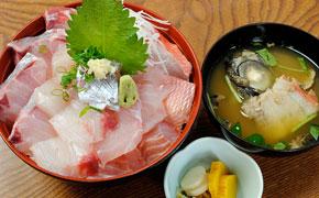 地魚丼 ... 1,650円