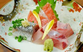 地魚3種類のお刺身