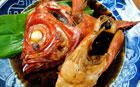 金目鯛の煮付けと刺身定食