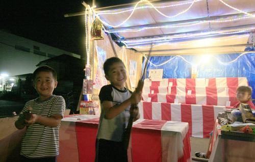 子供も大人も楽しめるビアガーデン 「下田縁日」始まりました!