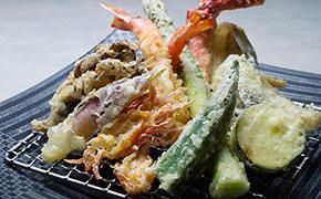 おまかせ5種セット+お好み天ぷら