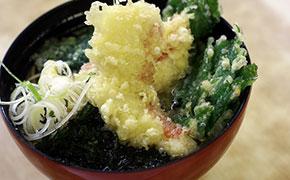 金目鯛の天ぷらそば ... 600円