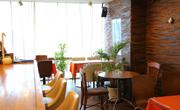 カフェ・ド・サンコの店内