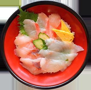 金目三色丼...1,500円