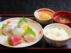 地魚刺身定食...1,600円