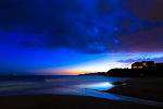 多々戸浜の夕景