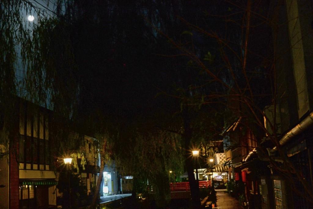 夜のペリーロード