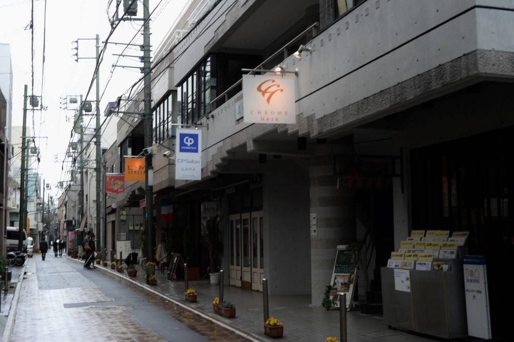 元町にあったお吉と鶴松の居住した場所