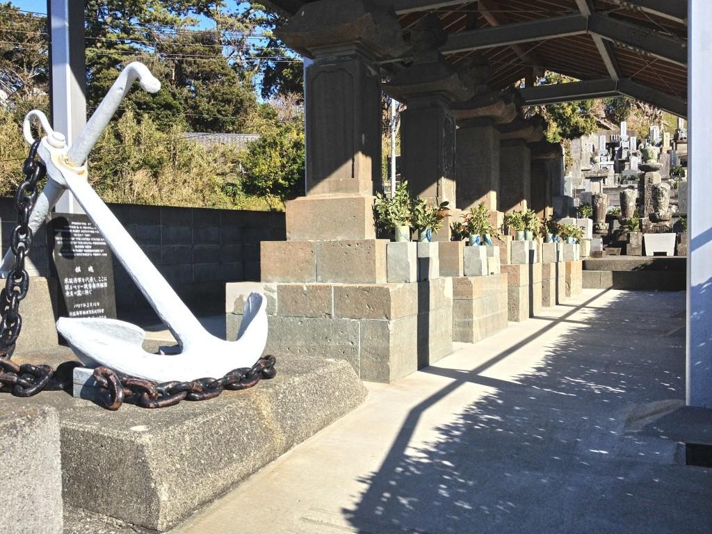 下田の玉泉寺にあるアメリカ人の墓