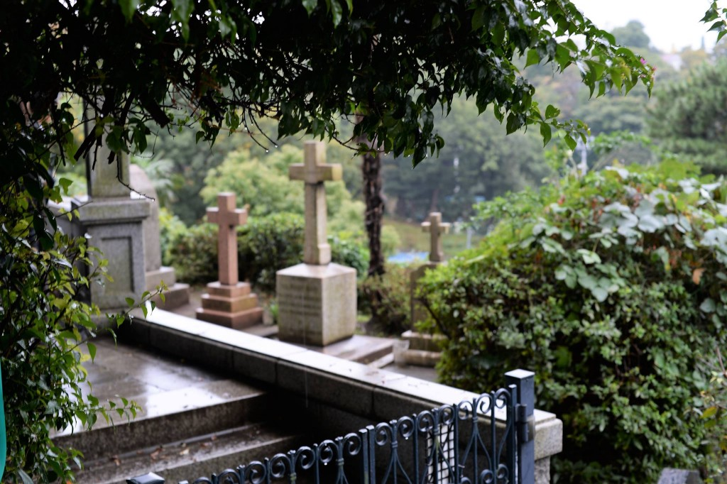 横濱の外国人墓地。世界40か国以上、5000人以上の外国人が眠っている
