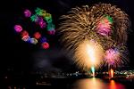 下田港の夜空を彩る ~黒船祭・花火~