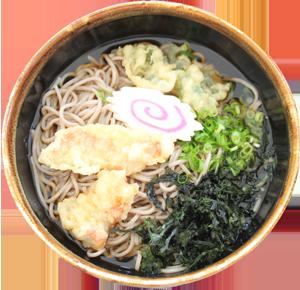 きんめ天ぷら蕎麦/うどん