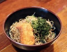 きんめカツ蕎麦/うどん 800円