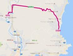 高根山トレッキングmap