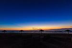 白浜の夜明け