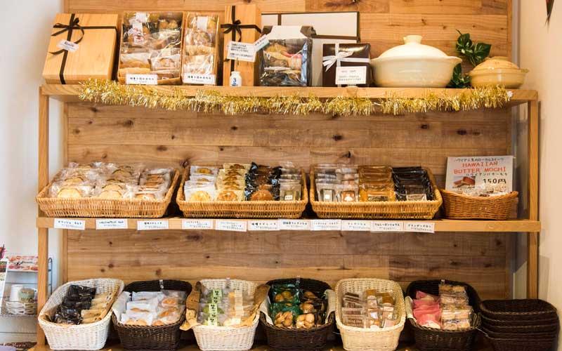 焼き菓子棚